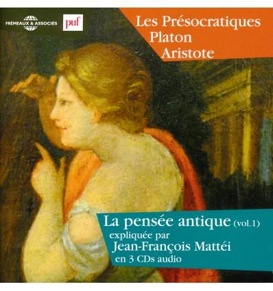 PRESOCRATIQUES 3 CD PLATON ARISTOTE