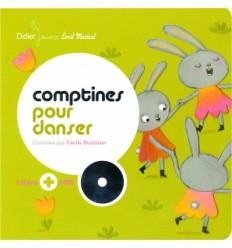 COMPTINES POUR DANSER LIVRE CD