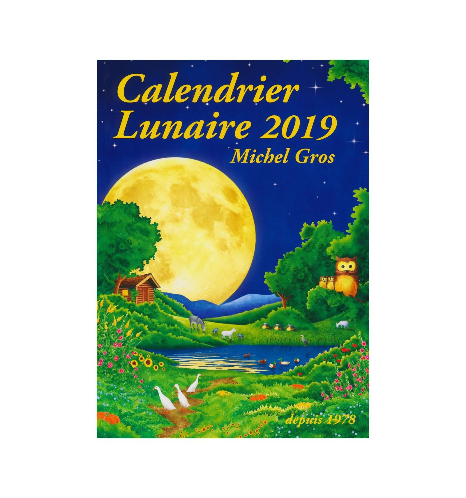 Calendrier lunaire 2019 Diffusion Rosicrucienne