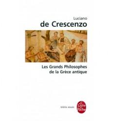 Les grands philosophes de la Grèce antique
