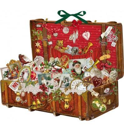 Santa's chest Advent calendar