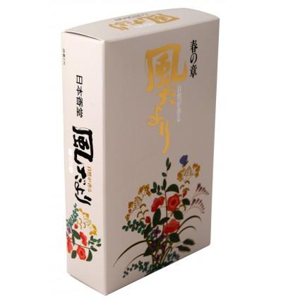 Japanese incense Kazedayori Spring