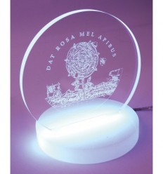 Dat rosa mel apibus Lamp