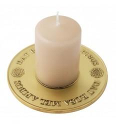 "Candleholder  ""Dat Rosa Mel Apibus"""