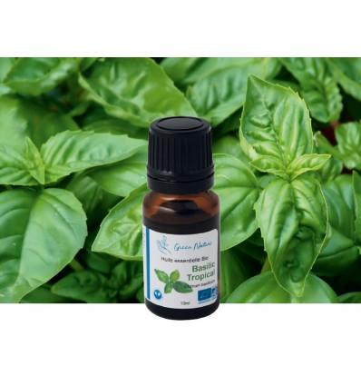 Organic Tropical Basil Essential Oil