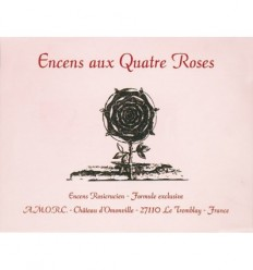 Four Roses  Incense (360 cube box)