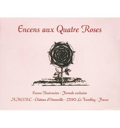 Encens rosicrucien aux quatre roses (360 cubes)