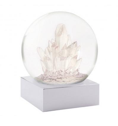 Dazzling quartz crystals
