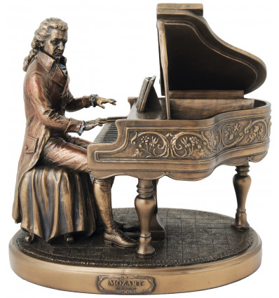 Mozart and his piano