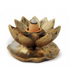 Lotus incense burner