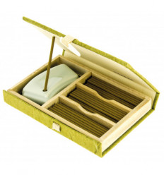 Mainichi Byakudan incense gift box