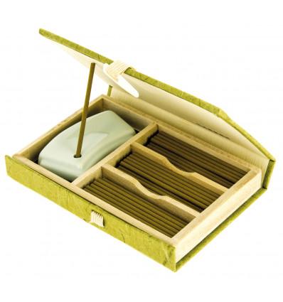 Mainichi Byakudan incense gift box