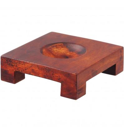 Support en bois pour globe Mova