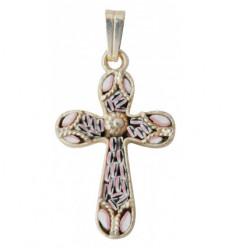 Croix en verre de Murano