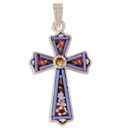 Murano glass cross