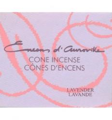 Auroville cone incense Lavender