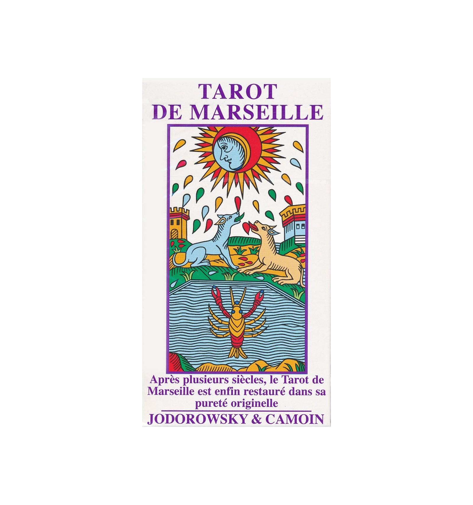 d6835f6e49baf3 Tarot de Marseille Jodorowsky   Camoin - Grand format