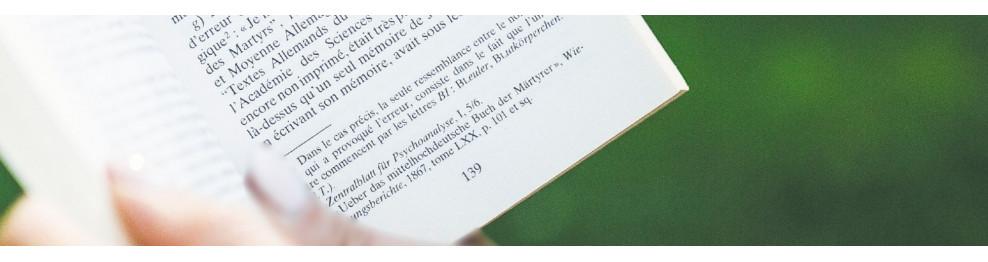 La lecture, un moment de bonheur